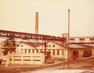 Allied Paper Corporation - SCM Allied Paper Bryant Mill D in March 1980