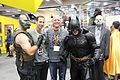 SDCC 2012 - David Finch, Bane & Batman (7573104660).jpg
