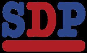 Social Democratic Party (UK, 1990–present) - SDP logo