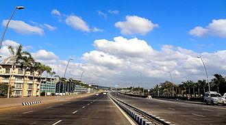 Sahar Elevated Access Road - Image: SEAR1