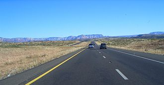 Arizona State Route 89A - SR 89A north of Cottonwood