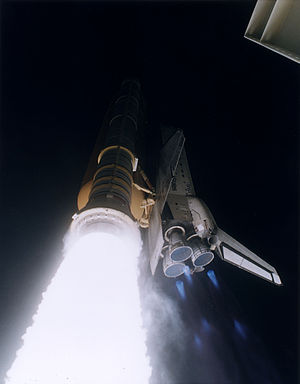 STS-79 - Atlantis launches on STS-79