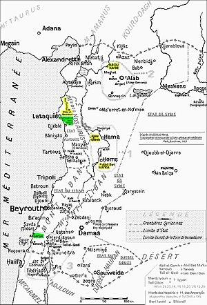 Province romaine de Syrie vers le début de l'ère chrétienne