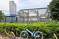 SZ 深圳 Shenzhen 南山區 Nanshan 金世紀路 Jinshiji Road Sept 2017 IX1 bike parking 01.jpg