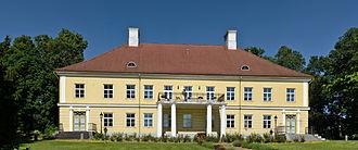 Tartu County - Image: Saadjärve mõisa peahoone