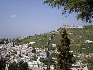 Sacromonte - View of Sacromonte