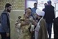 Saeed Ghasemi سخنرانی سعید قاسمی فرمانده سابق جنگ در قصر شیرین 01.jpg
