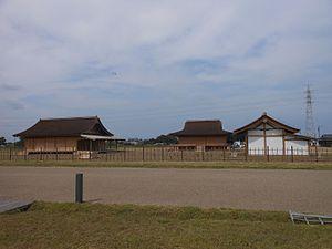 Saikū - Reconstructed halls of Saikū