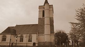 The church of Sailly-Labourse