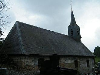 Saint-Acheul - The church in Saint-Acheul