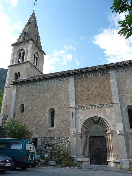 Église Saint-Apollinaire de L'Argentière-la-Bessée (ClasséClassé)