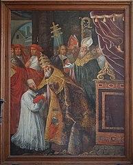 Saint-François-de-Sales before Pope Clement VIII.