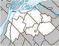 Saint-Joseph-de-Sorel Quebec location diagram.PNG