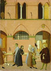 Saint Anthony Distributing His Wealth to the Poor