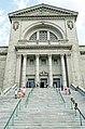 Saint Joseph's Oratory of Mount-Royal entrance 342897575.jpg