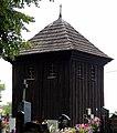 Saint Lawrence church in Piątek Bell tower.JPG