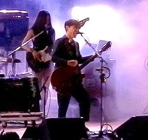 Ichiro Yamaguchi - Ichiro Yamaguchi performing with Sakanaction in Iwamizawa, Hokkaido in 2013