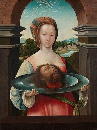 Jacob Cornelisz van Oostsanen - Image: Salome met het hoofd van Johannes de Doper Rijksmuseum SK C 1349