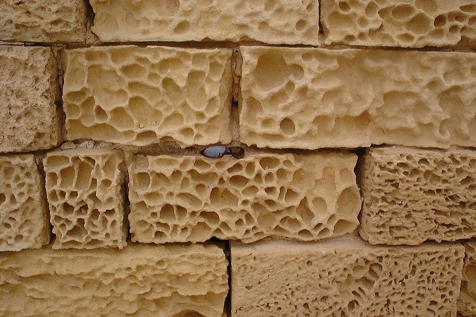 Salt weathering in gozo