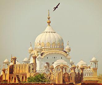 Sikh - The Samadhi of Emperor Ranjit Singh in Lahore, Pakistan
