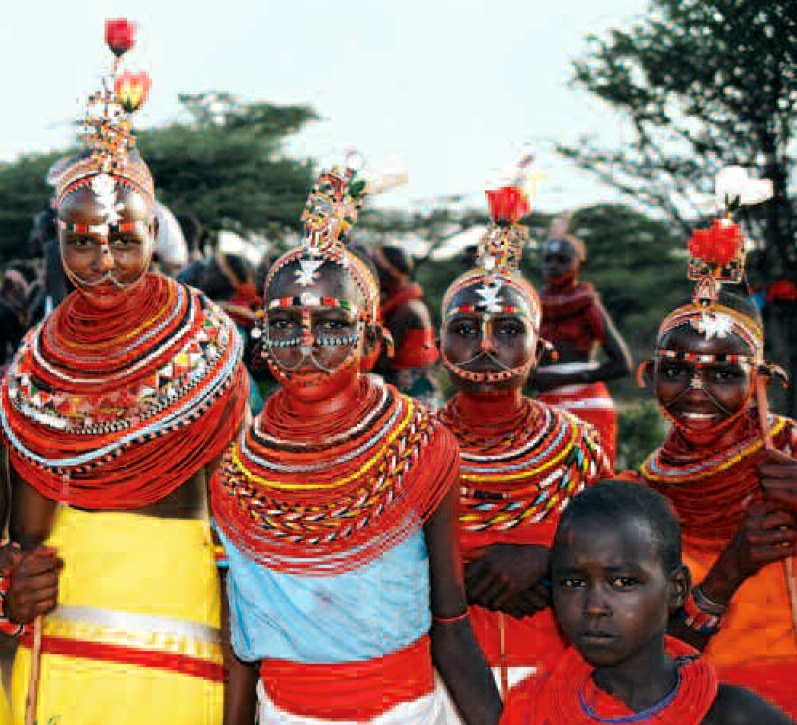 Samburu female circumcision ceremony, Kenya