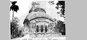 Madangopal Jiu Temple - The temple in its early days.