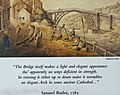 Samuel Butler Quote with Period Painting of Iron Bridge - Toll House - Ironbridge - Shropshire - England (27920958770).jpg