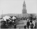 San Francisco Earthquake of 1906, The Ferry Building at the foot of Market Street, San Francisco - NARA - 531011.tif