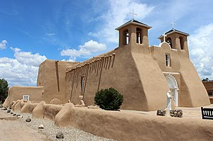 San Francisco de Asis Mission Church - Mission Church of Ranchos de Taos