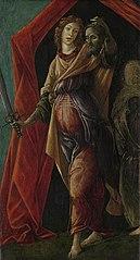 Judith tenant la tête d'Holoferne