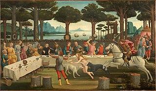 The Story of Nastagio Degli Onesti, part three