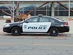 Sandy City Police car, Mar 16.jpg