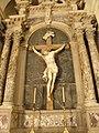 Sant'Andrea Apostolo, interno, altare del Crocifisso, dettaglio (Arquà Polesine) 01.JPG