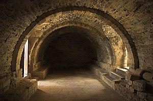 Santa María del Naranco - Image: Santa María del Naranco interior