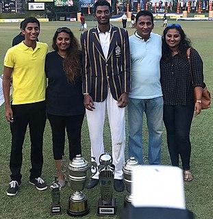 Santhush Gunathilake Sri Lankan cricketer