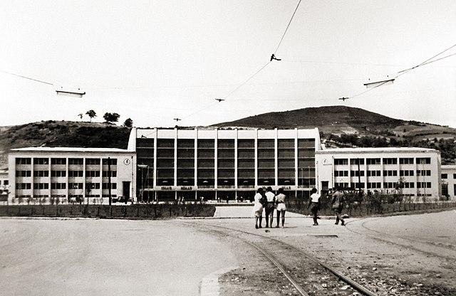 File Sarajevo Tram New Railway Station 3 Jpg Wikimedia Commons