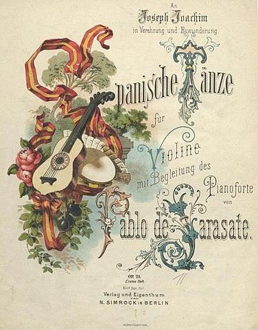 https://upload.wikimedia.org/wikipedia/commons/thumb/b/ba/Sarasate_-_Spanish_Dances%2C_Op._21%2C_first_edition_cover.jpg/376px-Sarasate_-_Spanish_Dances%2C_Op._21%2C_first_edition_cover.jpg