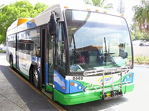 Sarasota County Area Transit - Image: Sarasota transit gillig brt hybrid