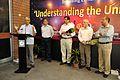 Saroj Ghose Addressing - Opening Ceremony - Understanding the Universe Exhibition - BITM - Kolkata-2015-02-28 3441.JPG