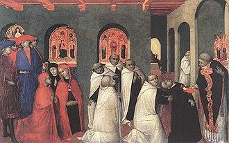 Stefano di Giovanni - Miracle of the Eucharist