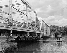 Saugatuck River Bridge, Spanning Saugatuck River at Route 136, Westport (Fairfield County, Connecticut).jpg