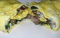Sausage, Mushroom & Chard Omelette (9108798823).jpg