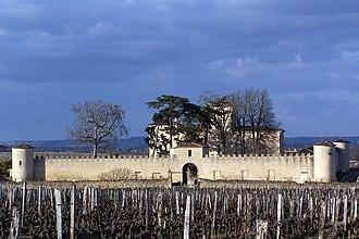 Château Lafaurie-Peyraguey - Walls of Château Lafaurie-Peyraguey