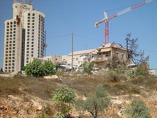 Village in Jerusalem, Mandatory Palestine