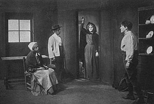 Kathleen Ni Houlihan - Scene From Yeats and Gregory's play, Cathleen Ní Houlihan, circa 1912 production