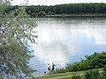 Scene along Danube in Dunavska Gradina Park - Silistra - Bulgaria (43093296481).jpg