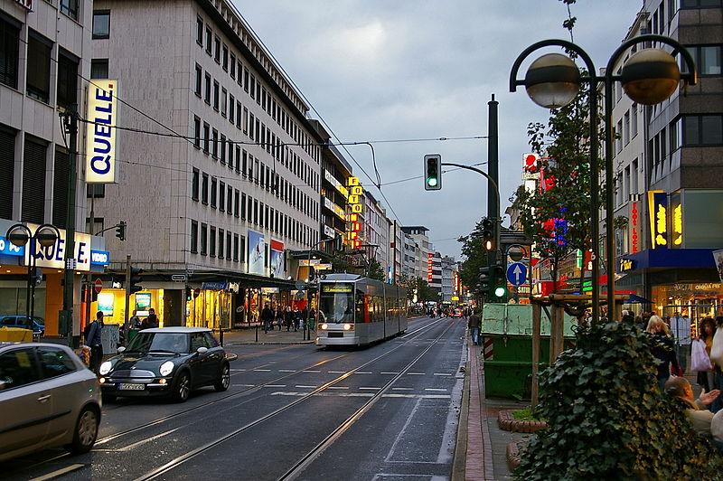 File:Schadowstraße in Düsseldorf 2.jpg