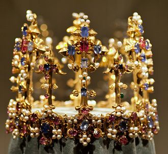Anne of Bohemia - The Crown of Princess Blanche, perhaps made for Anne.