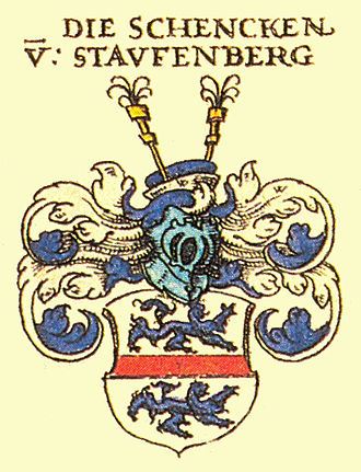 Stauffenberg - Coat of arms of the family
