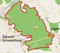 Schieder-Schwalenberg - Schwalenberger Wald - Map.png